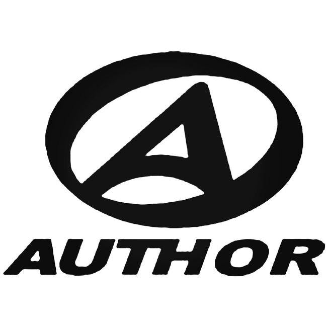 Author Decal Sticker