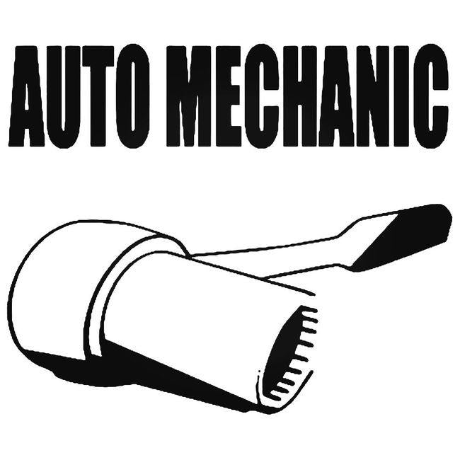 Auto Mechanic 2 Decal Sticker