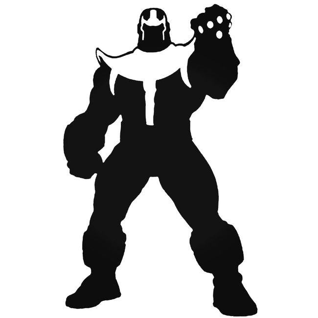 Avengers Thanos Decal Sticker