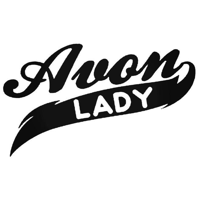 Avon Lady Decal Sticker