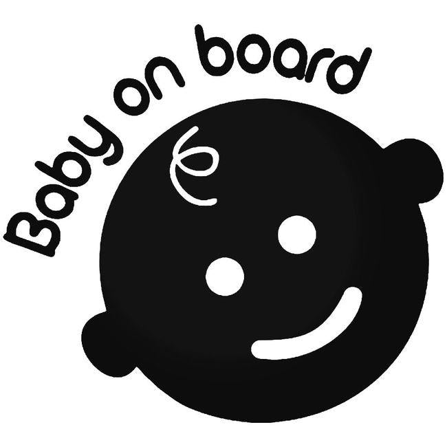 Baby On Board 1 Decal Sticker