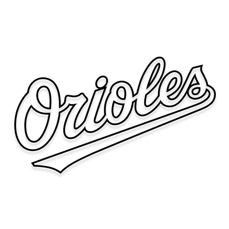 Baltimore Orioles Sticker