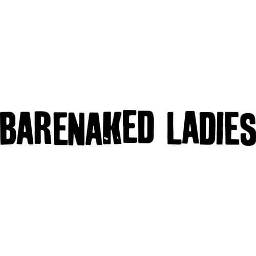 Barenaked Ladies Band Decal Sticker