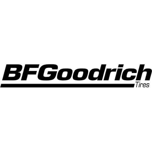 BF Goodrich Tires Logo Decal Sticker