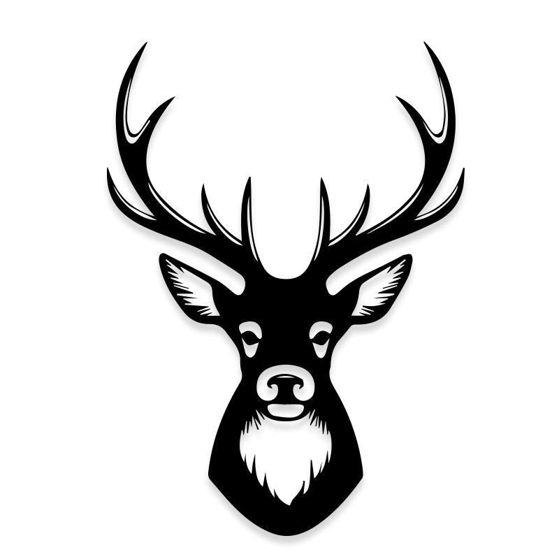 Big Buck Deer Hunting Decal Sticker