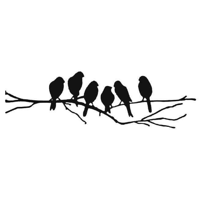 Bird Family Decal Sticker