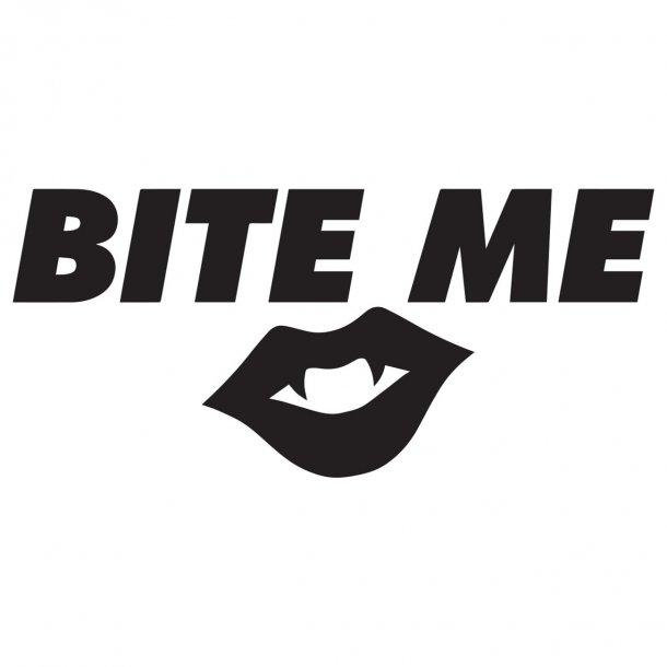 Bite Me Decal Sticker