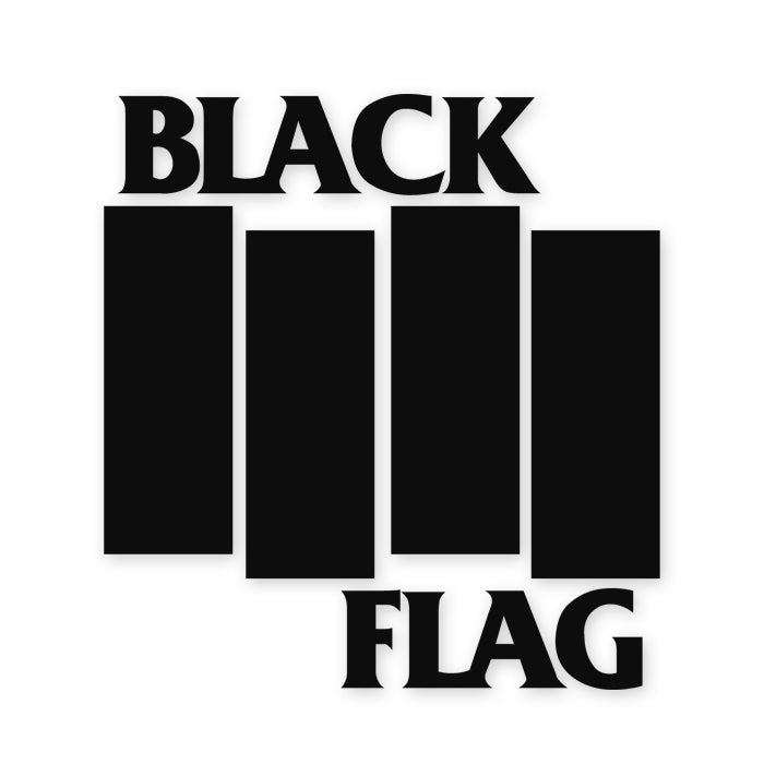 Black Flag Band Decal Sticker