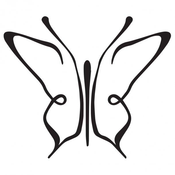 Butterfly Decal Sticker