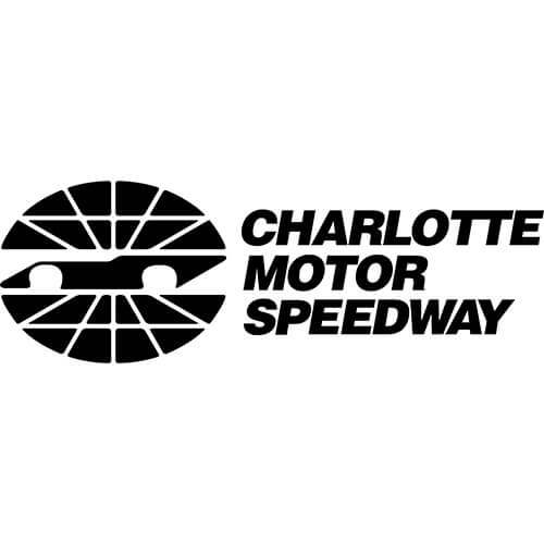 Charlotte Motor Speedway Logo Decal Sticker