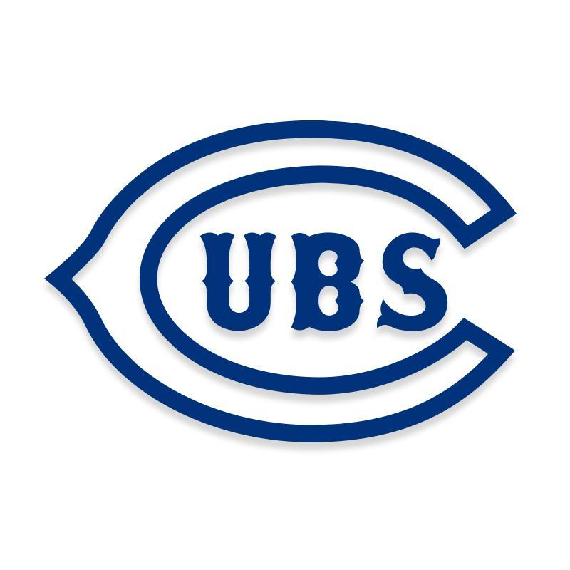 Chicago Cubs Baseball MLB Decal Sticker