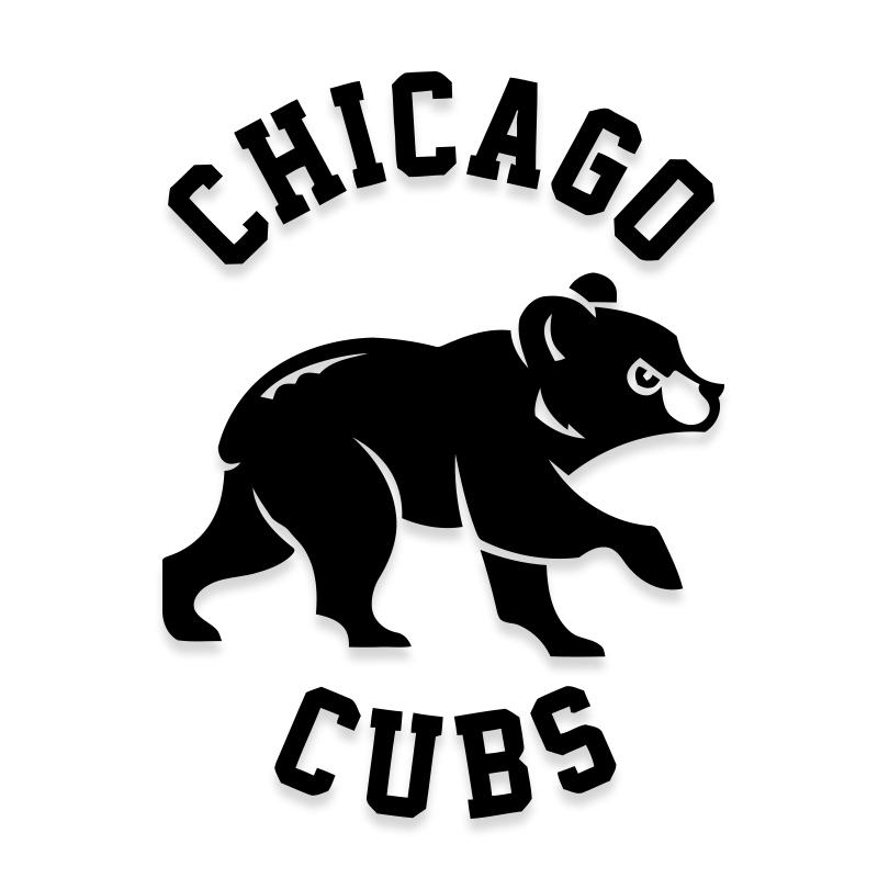 Chicago Cubs Decal Official Sticker