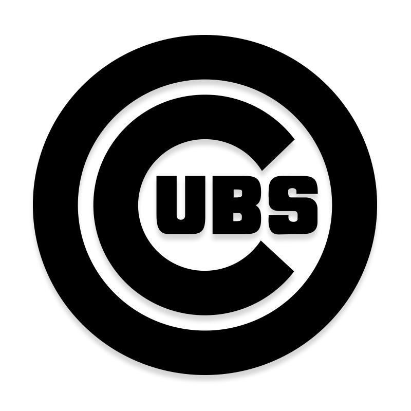 Chicago Cubs MLB Decal Sticker