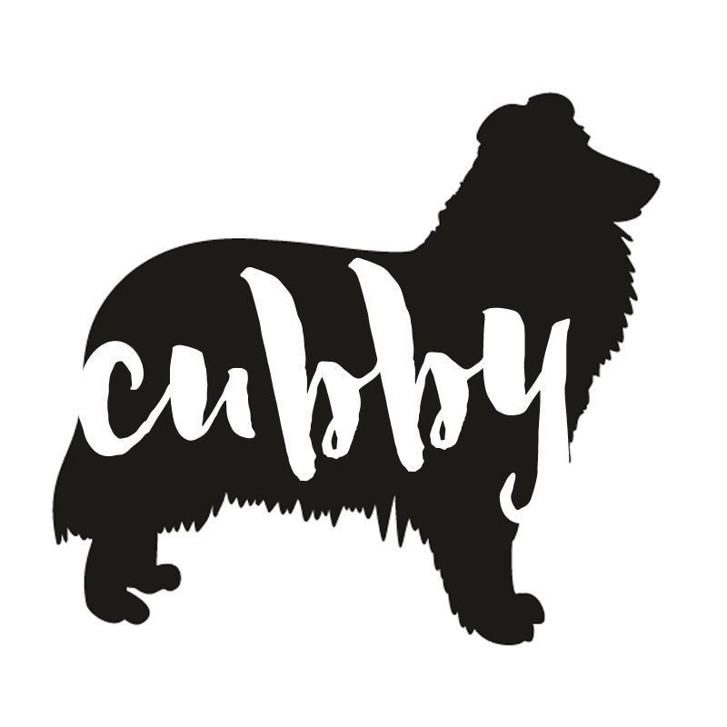 Collie Dog Decal Sticker for Car Windows