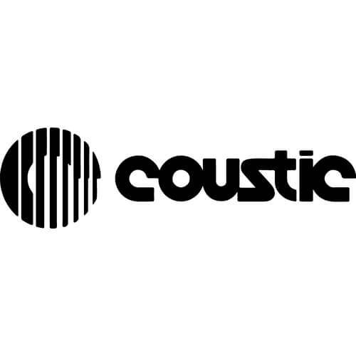 Coustic Audio Decal Sticker