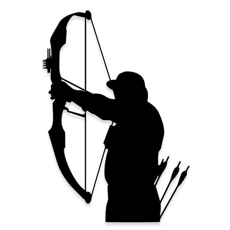 Cross Bow Outdoor Hunting Decal Sticker