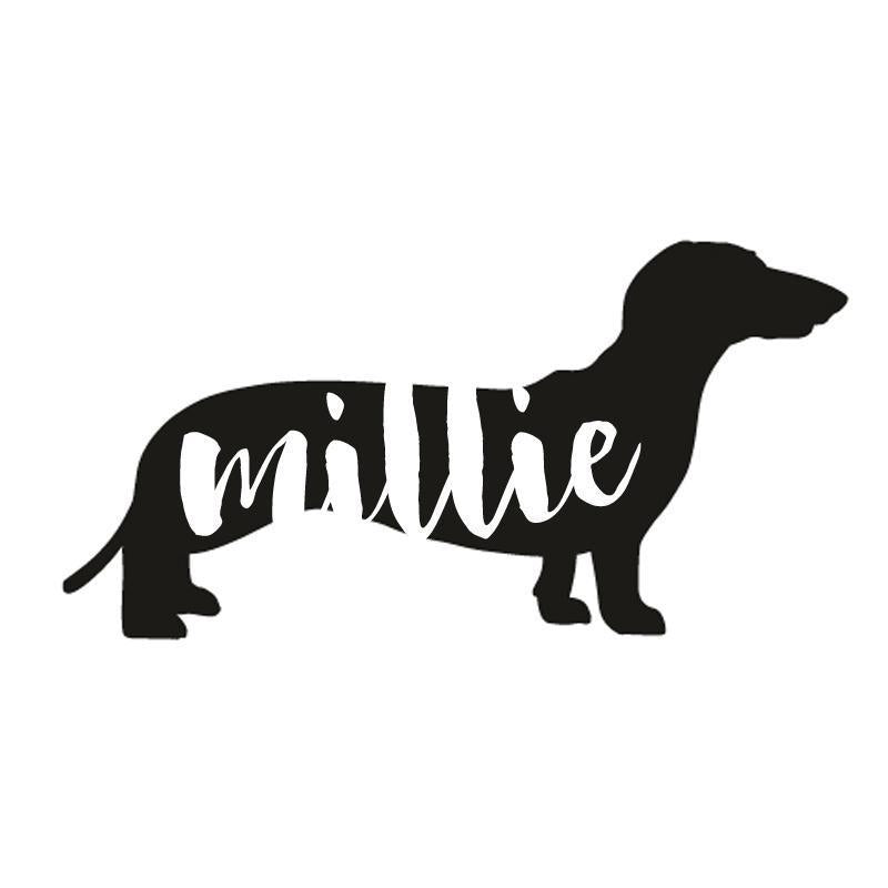 Dachsund Dog Decal Sticker for Car Windows