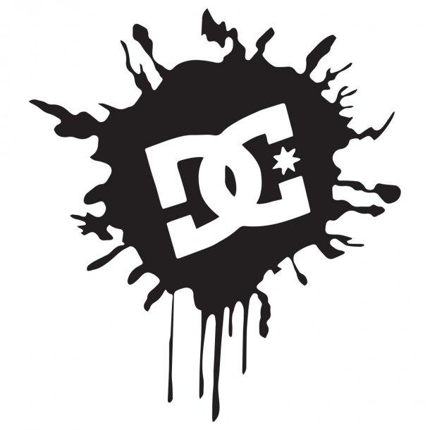 Dc Shoe Co Stamp Decal Sticker