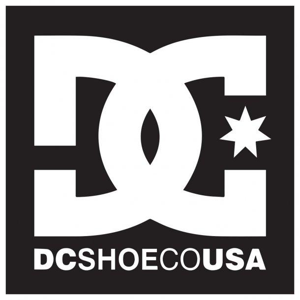 Dc Shoe Co Usa Decal Sticker