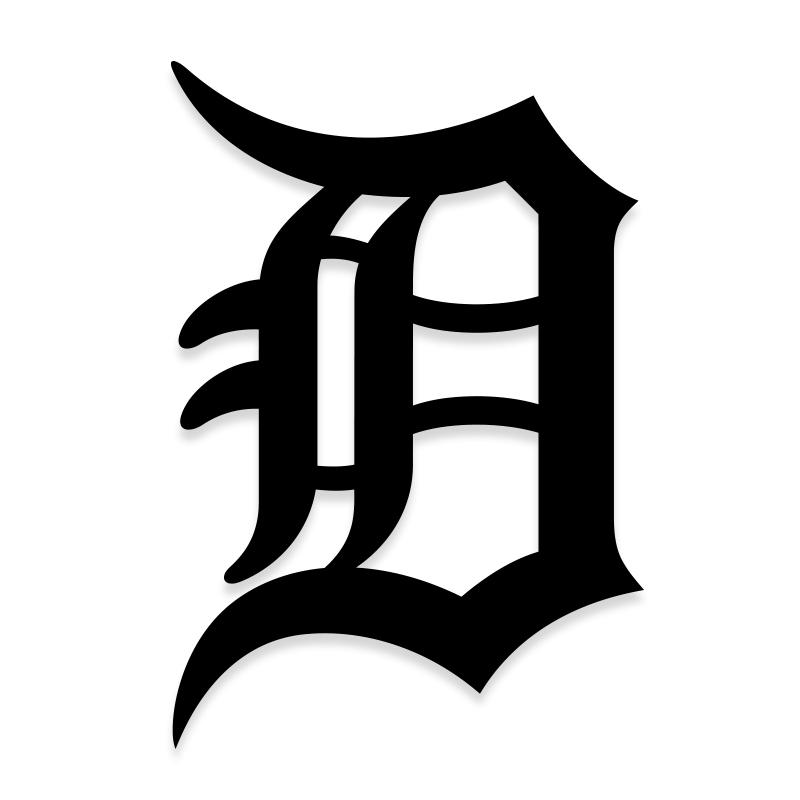 Detroit Tigers Decal for Cars