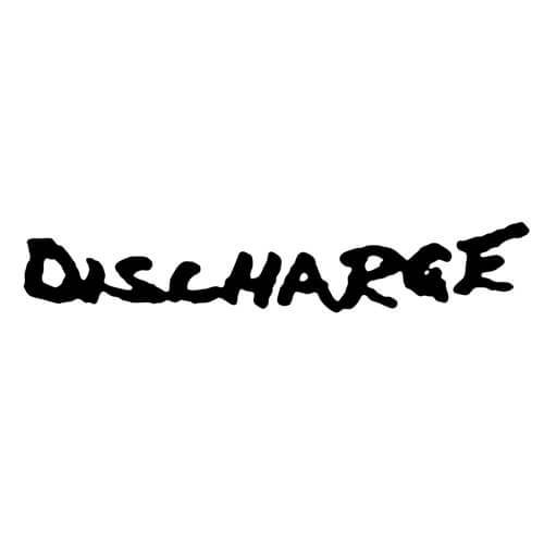 Discharge Band Decal Sticker