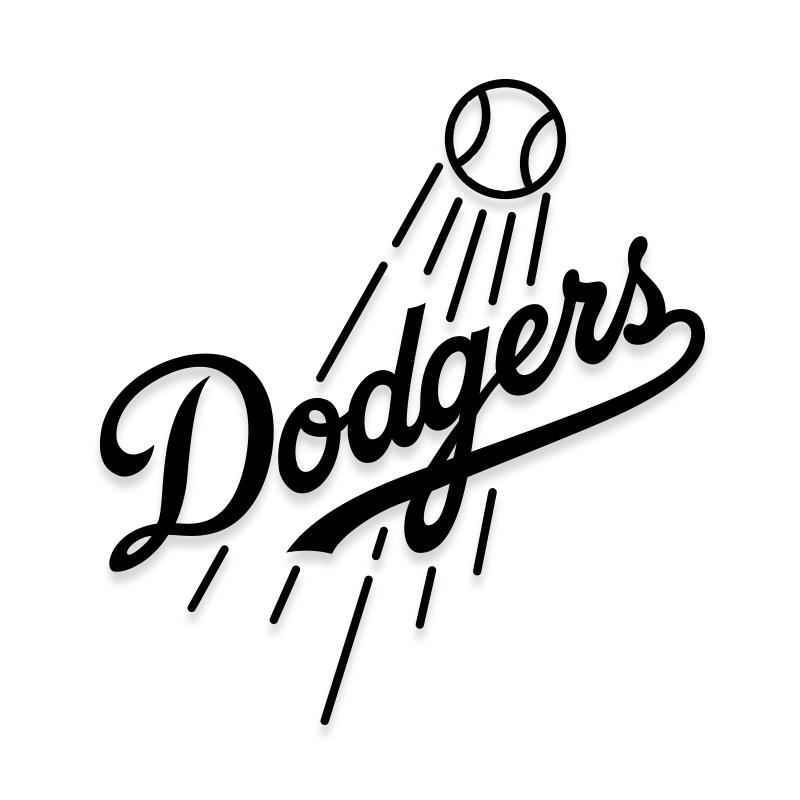 Dodgers Decal Sticker for Car Windows