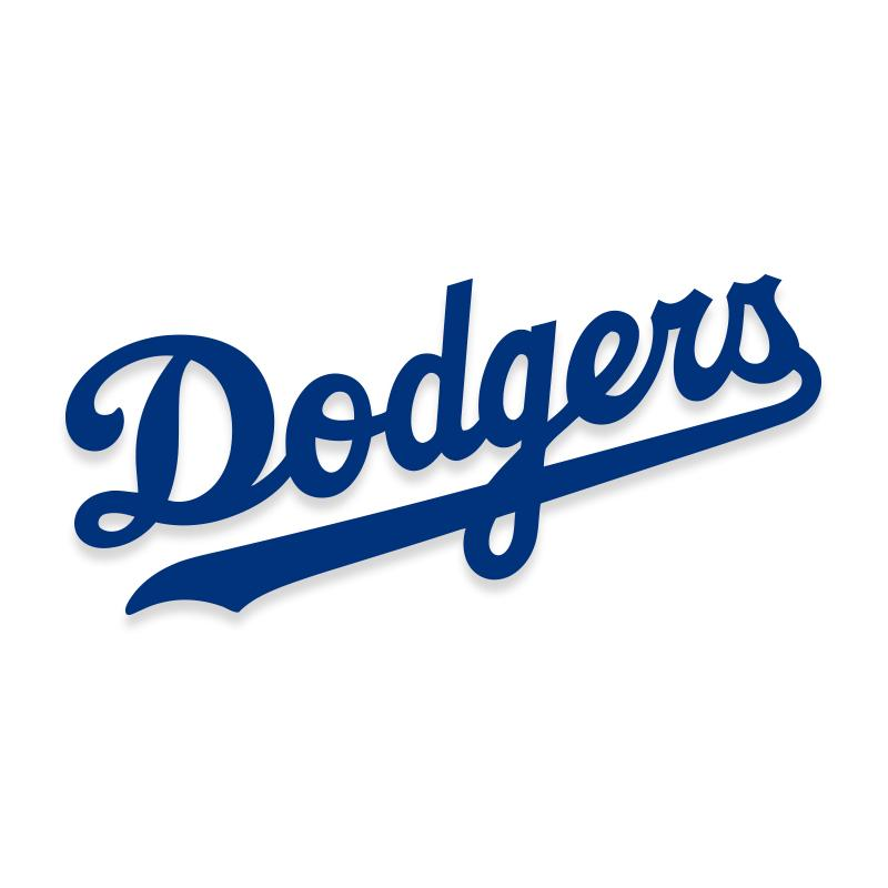 Dodgers MLB Decal Sticker