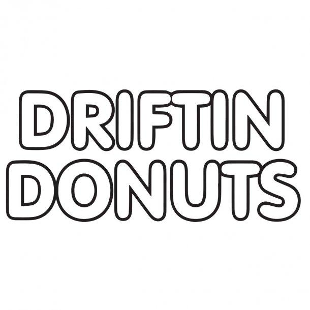Driftin Donuts Decal Sticker