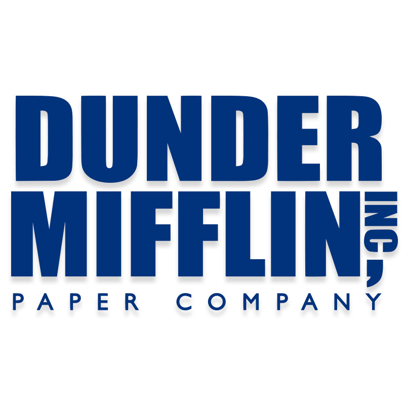 Dunder Mifflin The Office Vinyl Decal