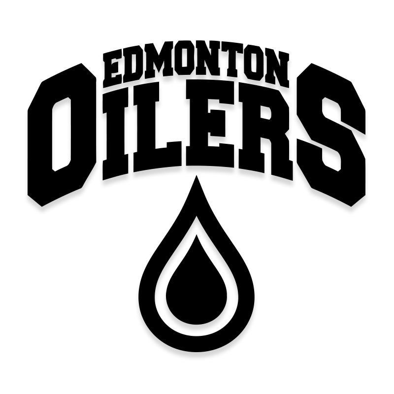 Edmonton Oilers Decal Sticker Hockey Logo