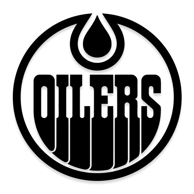 Edmonton Oilers NHL Hockey Team Official Decal Sticker