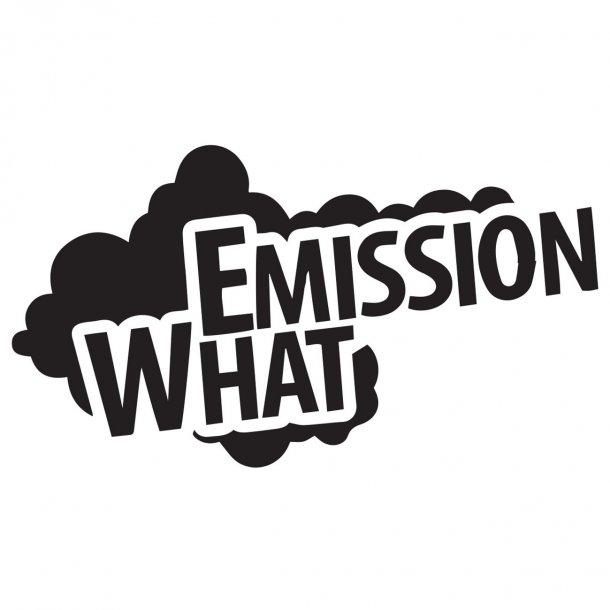 Emission What 2Decal Sticker