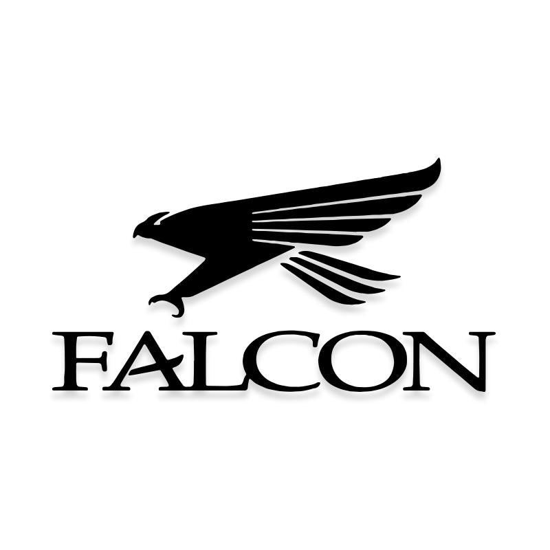 Falcon Fishing Logo Decal Sticker