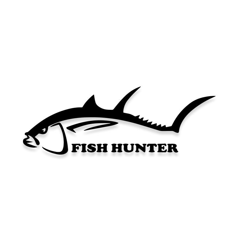 Fish Hunter Decal Sticker
