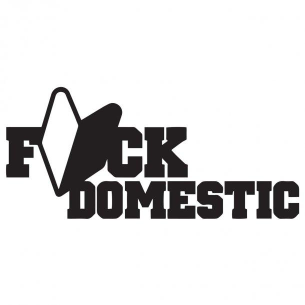 Fk DomesticDecal Sticker