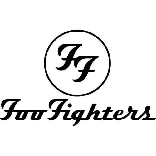 Foo Fighters Band Decal