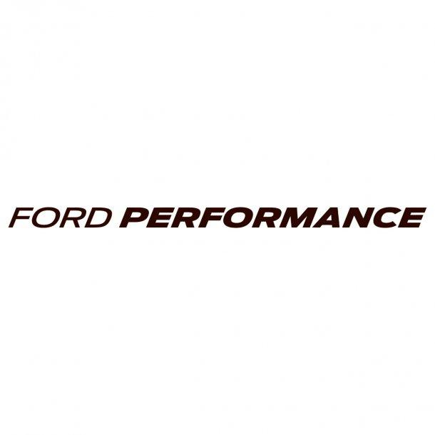 Ford Performance Decal Sticker