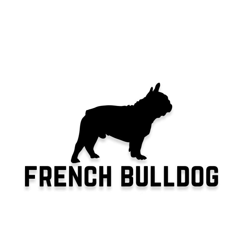 French Bulldog Car Decal Dog Sticker for Windows