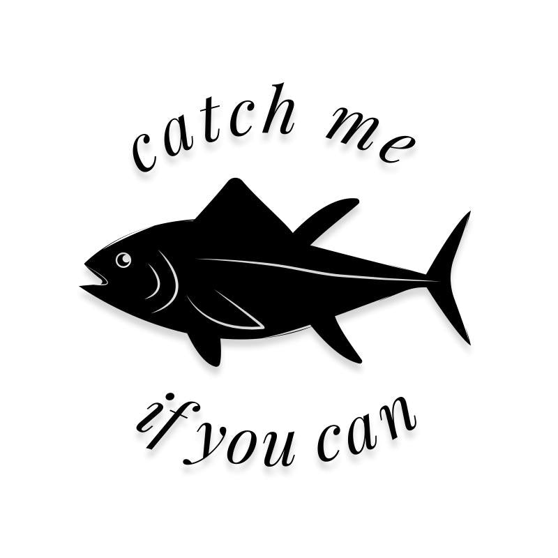 Funny Fishing Decal Sticker
