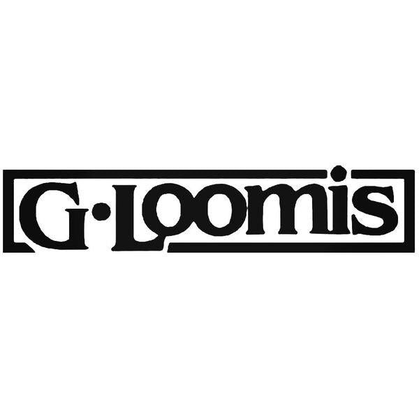 G Loomis Logo Fish Decal Sticker