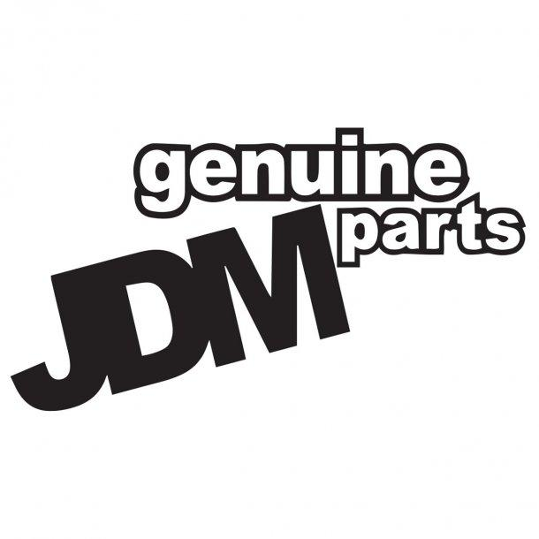 Genuine Jdm Parts Decal Sticker