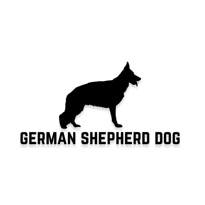 German Shepherd Car Decal Dog Sticker for Windows