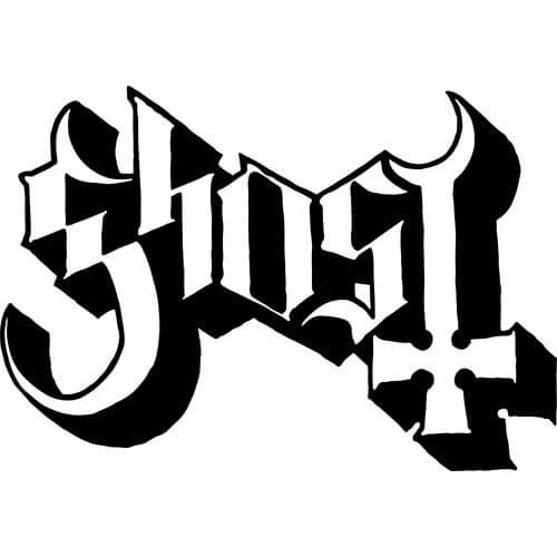 Ghost BC Band Decal Sticker