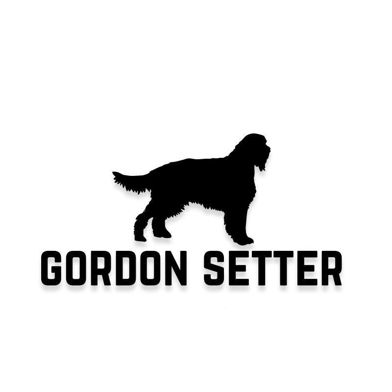 Gordon Setter Car Decal Dog Sticker for Windows