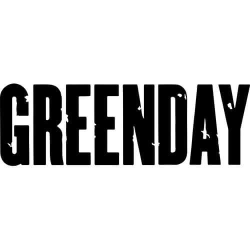 Green Day Decal Sticker