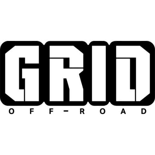 Grid Off Road Wheels Logo Decal Sticker