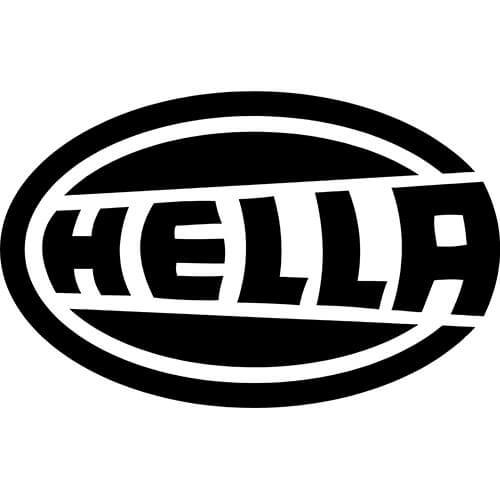 Hella Logo Decal Sticker