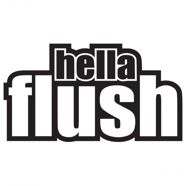 Hellaflush 1 Decal Sticker