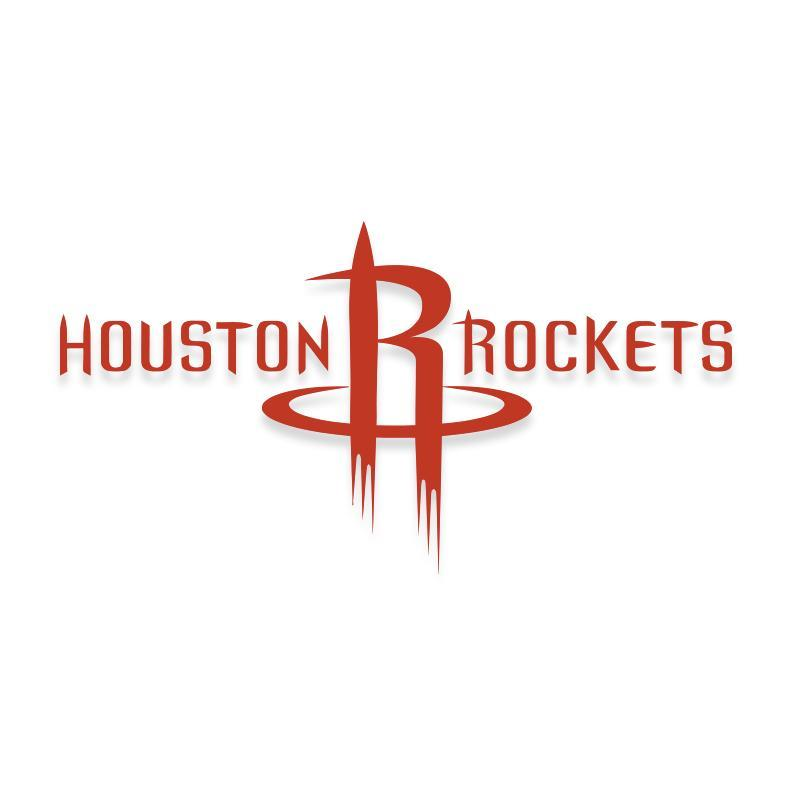 Houston Rockets NBA Official Decal Sticker