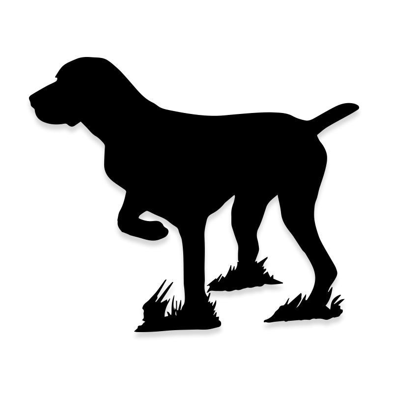 Hunting Dog Decal Sticker